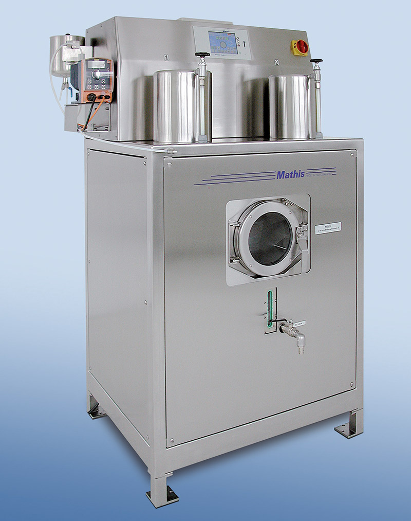 Drum dyeing and washing unit type «TWA»